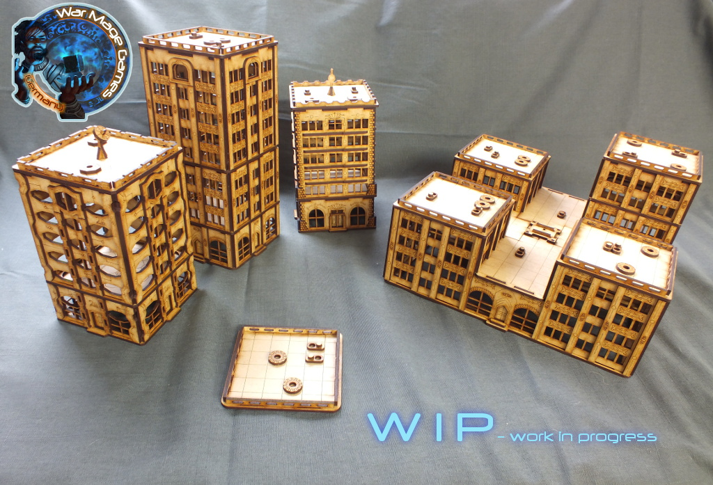 War Mage Games previews new 10mm buildings - BoLS GameWire