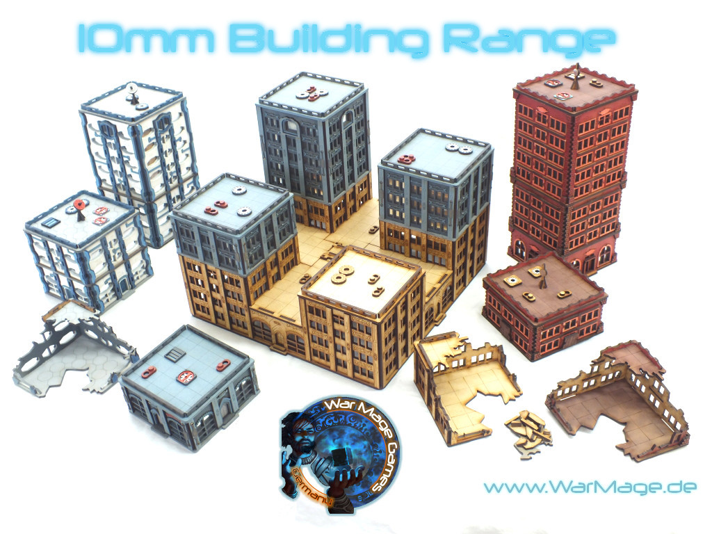 10mm modular building range for DZC now available from War Mage