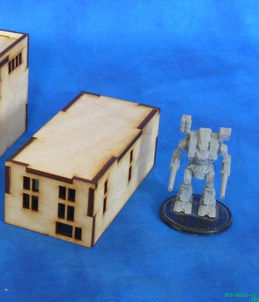 Warmage de 6mm 3er pack 3 stöckige wohnhäuser