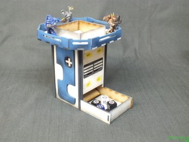 Sci-Fi dice tower